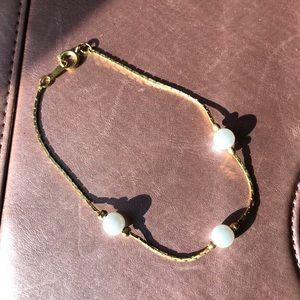 Jewelry - Gold/pearl bracelet